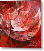 A Mothers Womb . Square . A120422.446 Metal Print by Wingsdomain Art and Photography