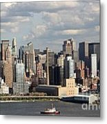 A New York City Afternoon Metal Print