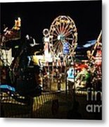 A Night At The Carnival Metal Print