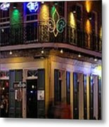 A Night In The French Quarter Metal Print