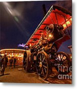 A Night Of Steam  Metal Print