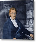 A. P. De Candolle, Swiss Botanist Metal Print by Science Source