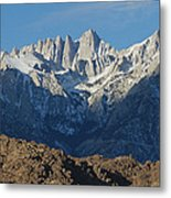 A Panoramic View Of Mount Whitney Metal Print