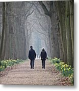 A Peaceful Stroll Metal Print