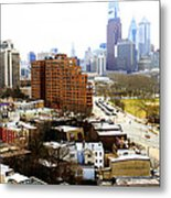 A Philadelphian View Two Metal Print