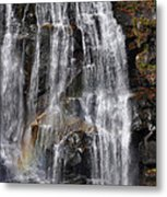 A Piece Of Whitewater Falls Metal Print