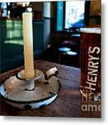 A Pint Of Henry's Metal Print