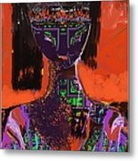 A Portrait Of A Girl Metal Print