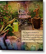 A Prayer Expressed Metal Print
