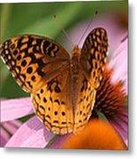 A Pretty Flying Flower Metal Print