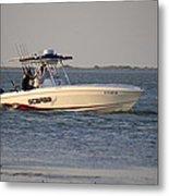 A Proper Fishing Boat Metal Print