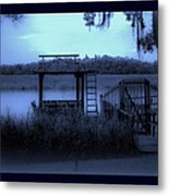 A Quiet Place By The Marsh Metal Print