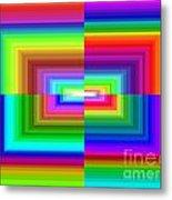 A Rainbow Is A Rainbow Is A Rainbow Metal Print
