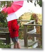 A Rainy Summer's Day Metal Print