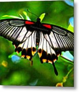 A Real Beauty Butterfly Metal Print