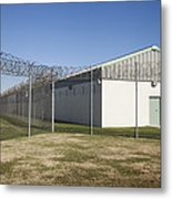 A Residential Unit Wing Or Dormitory Metal Print