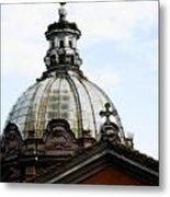 A Roman Church And Dome Metal Print