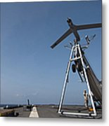 A Scan Eagle Unmanned Aerial Vehicle Metal Print