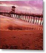 A Scenic Beach Metal Print