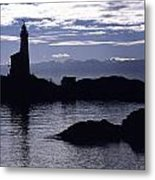 A Scenic Lighthouse Metal Print