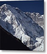 A Scenic View Of A Steep Icy Metal Print