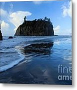 A Sea Of Blue Metal Print