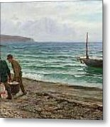 A Sea View Metal Print by Colin Hunter