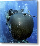 A Seal Delivery Vehicle Team Member Metal Print by Stocktrek Images