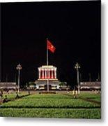 A Serene Ho Chi Minh Mausoleum Metal Print