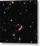 A Shot Of A Deep Space Photograph Metal Print