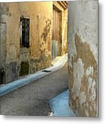 A Sidestreet In Provence Metal Print