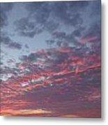 A Sky On Fire Metal Print