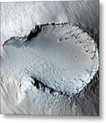 A Small Cone On The Side Of One Of Mars Metal Print