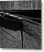 A Soft Imposition Metal Print