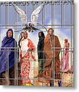 A Song For The Caged Birds Of Mauritania Metal Print