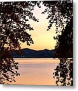 A Soothing Sunset Metal Print