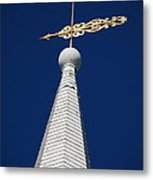 A Spire In New England II Metal Print