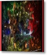 A Splatter Of Applause Metal Print