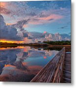 A Storm Is Brewing Metal Print
