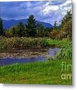 A Storm Rolls In From The West 1 Metal Print