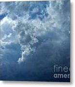 A Storm Rolls In From The West 11 Metal Print
