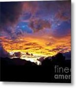 A Storm Rolls In From The West 28 Metal Print