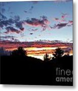 A Storm Rolls In From The West 35 Metal Print