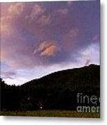 A Storm Rolls In From The West 39 Metal Print