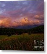 A Storm Rolls In From The West 41 Metal Print