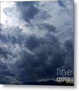 A Storm Rolls In From The West 5 Metal Print