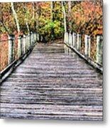 A Stroll Through Autumn Metal Print by JC Findley