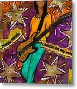 A Student Of The Jam Metal Print