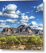 A Superstition Morning  Metal Print