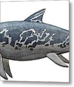 A Temnodontosaurus Burgundiae Metal Print